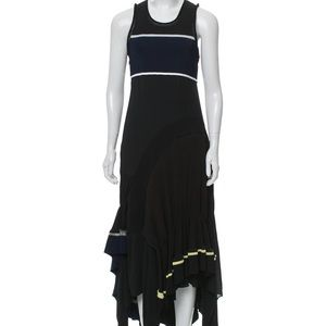 3.1 PHILLIP LIM Ruffle-Accented Maxi Dress 0